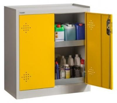 POISON 1000/930 Vegyszer - és méregtároló szekrény 2 tálcával