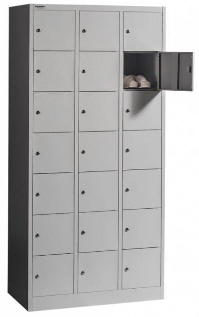 BOX 3/21 21 rekeszes értékmegőrző szekrény