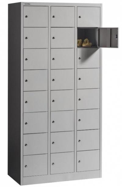 BOX 3/24 24 rekeszes értékmegőrző szekrény
