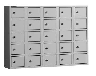 BOX 5/25 Fali kisrekeszes értékmegőrző szekrény