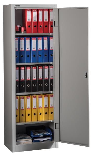LIGHT 1850/600 irattároló szekrény 4 polccal