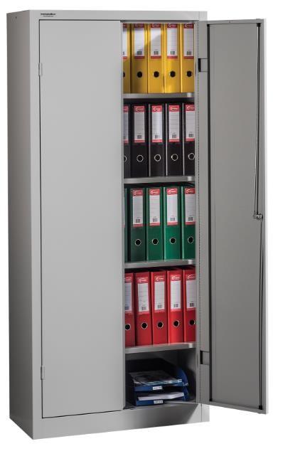 LIGHT 1800/800 irattároló szekrény 4 polccal