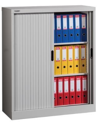 ROLO 1200/1000 Rolóajtós irattároló szekrény 2 polccal