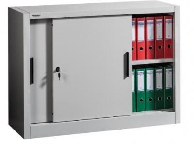 SLIDE 900/1200 Tolóajtós irattároló szekrény 1 polccal
