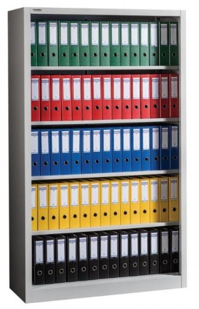 OPEN 2000/1200 Nyitott irattároló szekrény 4 polccal